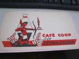 BUVARD PUBBLICITARIA CAFE COOP - Coffee & Tea