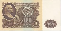 BILLETE DE RUSIA DE 100 RUBLOS DEL AÑO 1961 SIN CIRCULAR-UNCIRCULATED  (BANKNOTE) - Rusia