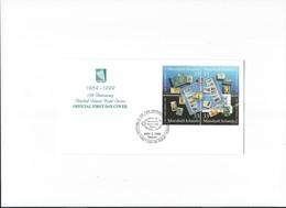 Marshall Islands, FDC, 1999, 15th Anniversary Marshall Islands Postal Service 1984-1999, Open Klep - Marshall Islands