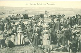 Un Jour De Foire En Auvergne (animée) - Foires