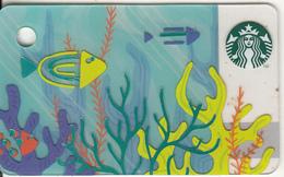 FRANCE - Summer, Starbucks Mini Card, CN : 6151, Unused - Gift Cards