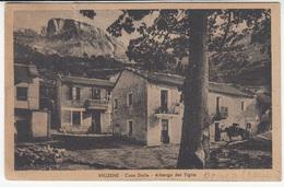 Viozene - Cassa Dolla . Albergo Del Tiglio Old Postcard Travelled 194? B180710 - Italie