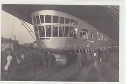 Zeppelin Bei Der Landung - Tolle Detail-Grossaufnahme - 1929         (P-157-71105) - Dirigeables