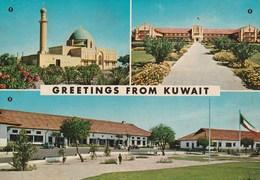KUWAIT GREETINGS FROM KUWAIT 180H - Kuwait