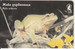 BULGARIA(chip) - Frog, Hyla Arborea, Mobika Telecard 200 Units, Tirage 50000, 10/99, Used - Ohne Zuordnung
