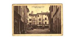 LE MALZIEU VILLE .... PLACE DU MARCHE - France