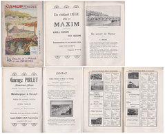 """Brochure """" La Vallée De La Meuse, Ardennes Etc """"   1913   Namur, Dinant Etc - België"""