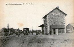 (71)  CPA  Sens De Bretagne  La Gare ( Bon Etat) - Altri Comuni