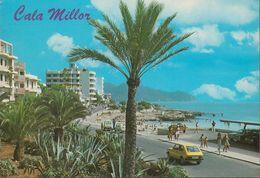 Spanien - Mallorca - Cala Millor - Beach - Street - Cars - Cartes Postales