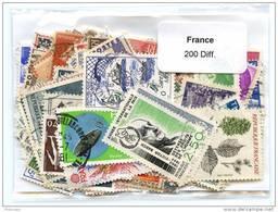 Lot De Timbres De France (200 Differents) - Timbres