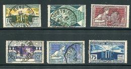 France  220-225 (o) Used  Complete Set - France
