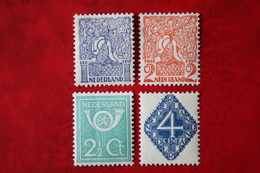 Diverse Voorstellingen NVPH 110-113 (Mi 112-115) 1923 POSTFRIS / MNH ** NEDERLAND / NIEDERLANDE - 1891-1948 (Wilhelmine)