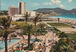 Spanien - Mallorca - Cala Millor - Hotel - Promenade - Postcards