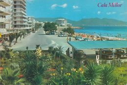 Spanien - Mallorca - Cala Millor - Hotel - Promenade - Cars - Ansichtskarten