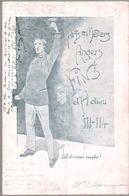 Document Ancien : Repas D'adieu D'une Promo Des ARTS ET METIERS D'ANGERS - - Documents Historiques