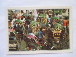 Bangla Desh Dacca  Cyclo- Pousse Pousse - Bangladesh