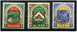 Algerie (1947) Préos N 17 à 19 * (charniere) - Algérie (1924-1962)