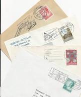 Luxembourg: 4 Lettres Avec Flamme (sécurité Routière ) - Accidentes Y Seguridad Vial