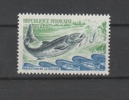 """FRANCE / 1971 / Y&T N° 1693 ** : """"Protection De La Nature (Saumon) X 1 - Nuovi"""