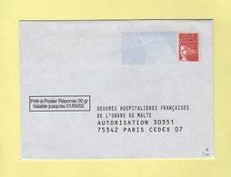 PAP Reponse - Ordre De Malte - Valable Jusqu'au 01/05/02 - Entiers Postaux