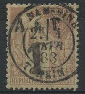 Annam Et Tonkin (1888) N 1 (o) - Annam And Tonkin (1892)