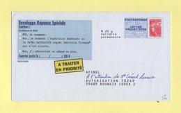 PAP Reponse - Afibel - Numero 12P455A - Entiers Postaux