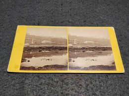 ANTIQUE STEREOSCOPIC REAL PHOTO UNITED KINGDOM SOUTH CLIFF , SCARBOUROUGH - Stereoscopi