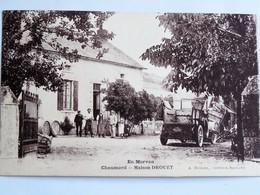 C.P.A. : 58 CHAUMARD : Maison Drouet - France