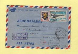 Aerogramme Concorde - Destination Japon - Paris - 1970 - Postmark Collection (Covers)
