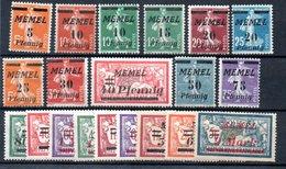 Lituanie : MEMEL /  Série  N 95 à 100 /  NEUFS**  Sauf N 99 Avec Trace De Charnière - Lituanie