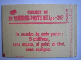 FRANCE - Carnets N° 1972 C3a - Cote 140 € - Markenheftchen