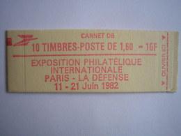 FRANCE - Carnets N° 2187 C2 - Variété 1 Sous E - Cote 60 € Dallay - Usage Courant