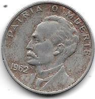 Cuba 20 Centavos 1962  Km 31 - Cuba
