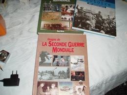 """LIVRE """"IMAGES DE LA SECONDE  GUERRE MONDIALE"""" Auteur ROSS BURNS. - Armes Neutralisées"""