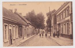 Heusden - Schoolstraat - Geanimeerd -  Cafés - Destelbergen