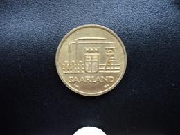 SARRE : 10 FRANKEN   1954   KM 1    SUP+ - Saarland