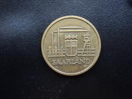 SARRE : 50 FRANKEN   1954   KM 3    TTB - Saarland