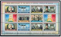 Vanuatu 1990 Charles De GAULLE MNH - De Gaulle (Generale)