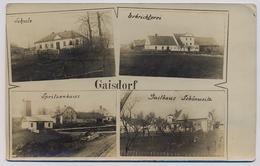 Gaisdorf Ostsudetenland  Provisional Stamp Provisorischer Stempel  Swastika Hakenkreuz  1938y.     E216 - Sudeten