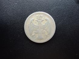 SERBIE : 20 PARA   1883   KM 20    TB+ - Serbie