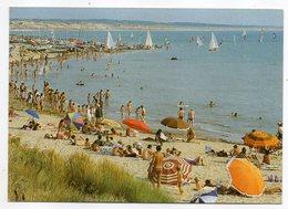 BRETIGNOLLES SUR MER--1986--Plage Du Marais Girard(très Animée)....--timbre --cachet .........à Saisir - Bretignolles Sur Mer