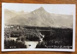 ROCHER DE BOULE MT.HAZELTON  B.C.CANYON  FROM SMITHERS  TO  PARIS  1953 - Montreal