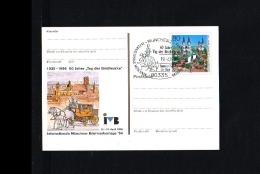 1996 - Germany Postal Stationary - Stamps & Coins - Stamps Day - München - 60 Jahre Tag Der Briefmarke [HB040] - [7] West-Duitsland