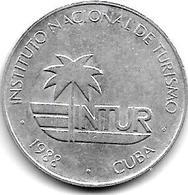 *cuba 25 Centavos 1988  Km 419  Xf+ - Cuba