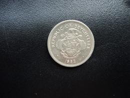 SEYCHELLES : 25 CENTS  1982   KM 49.1     SUP - Seychelles