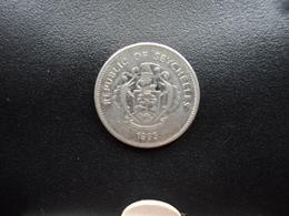 SEYCHELLES : 25 CENTS  1993 PM   KM 49.3     SUP - Seychelles