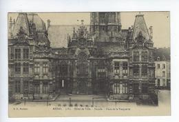 CPA Arras 3 Bis Hôtel De Ville Façade Place De La Vacquerie - Arras
