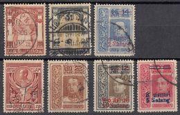 SIAM - Lotto Composto Da Sette Valori Usati: Yvert 58, 93, 101, 102, 114, 115 E 116. - Siam