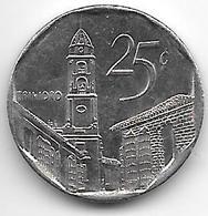 *cuba 25 Centavos 2006  Km 577.2  Unc - Cuba
