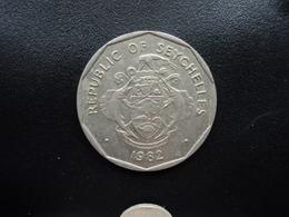 SEYCHELLES : 5 RUPEES  1982    KM 51.1     SUP - Seychelles